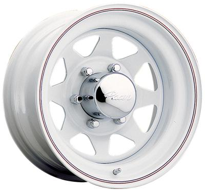 310W White Spoke Tires